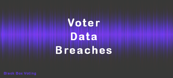 Voter Data Breaches